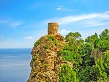 Torre del Verger, al noroeste de Majorca Foto de archivo libre de regalías