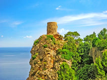 Torre del Verger, a nord-ovest di Maiorca Fotografia Stock Libera da Diritti
