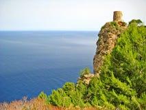 Torre del Verger, a nord-ovest di Maiorca Immagini Stock Libere da Diritti