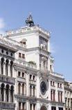 Torre Dell'Orologiovenedig Lizenzfreie Stockfotos