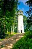 Torre dell'allerta, collina di Krzywoustego, Polonia Fotografia Stock