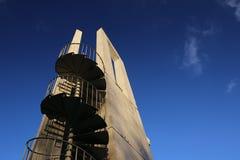 Torre dell'allerta da sotto Immagini Stock Libere da Diritti