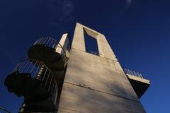 Torre dell'allerta da sotto Fotografie Stock