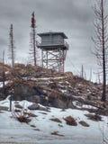 Torre dell'allerta del fuoco Immagine Stock