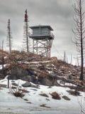 Torre dell'allerta del fuoco Immagini Stock