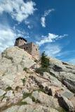 Torre dell'allerta del fuoco del picco di Harney in Custer State Park nel Black Hills del Sud Dakota Immagini Stock Libere da Diritti