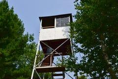 Torre dell'allerta del fuoco di Adirondack Fotografia Stock Libera da Diritti