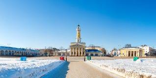 Torre dell'allerta del fuoco in Russia Fotografie Stock