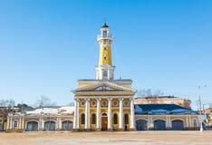 Torre dell'allerta del fuoco in Russia Fotografia Stock Libera da Diritti