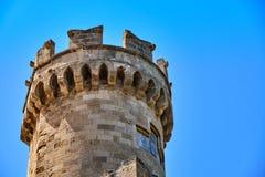 Torre dell'allerta della fortezza Fotografia Stock