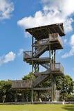 Torre dell'allerta della spiaggia di Hollywood Immagini Stock