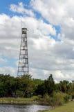 Torre dell'allerta della stazione del guardia forestale Fotografia Stock Libera da Diritti