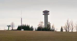 Torre dell'allerta di Karasin Fotografie Stock