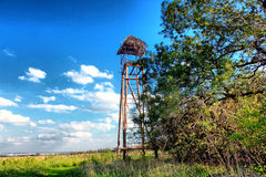 Torre dell'allerta di Kozacky Fotografie Stock Libere da Diritti