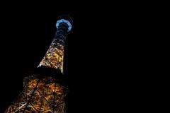 Torre dell'allerta di Praga Fotografia Stock Libera da Diritti