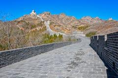 Torre dell'allerta sulla grande parete della Cina Immagini Stock