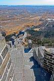 Torre dell'allerta sulla grande parete della Cina Immagine Stock Libera da Diritti