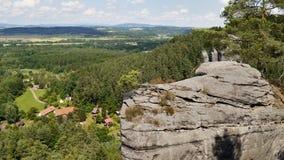 Torre dell'arenaria della roccia Immagini Stock