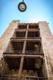 Torre dell` Elefante på Cagliari, Sardinia underifrån Arkivbilder