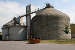Torre dell'impianto di depurazione Fotografia Stock Libera da Diritti