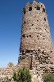 Torre dell'orologio del deserto sopra Grand Canyon Immagine Stock