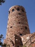 Torre dell'orologio del deserto sopra Grand Canyon Fotografie Stock Libere da Diritti