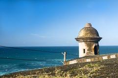 Torre dell'orologio della fortezza Immagini Stock Libere da Diritti