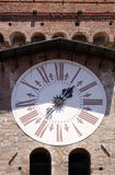 Torre dell& x27;Orologio, Stone Bell Tower in Lucca, Italy Royalty Free Stock Photography