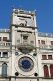 Torre dell'Orologio Venedig Royaltyfria Bilder