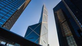 Torre della banca di Cina, Hong Kong Fotografia Stock Libera da Diritti