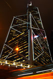 Torre della banca di Cina, Hong Kong Fotografie Stock Libere da Diritti