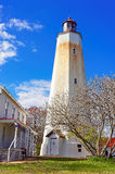 Torre della casa di Sandy Hook Light Immagini Stock