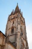 Torre della cattedrale di Oviedo Fotografia Stock