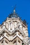 Torre della cattedrale di Toledo, stile gotico fotografie stock