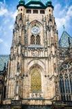 Torre della cattedrale di Vitus del san Fotografia Stock Libera da Diritti