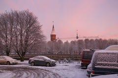 Torre della cattedrale a Kaliningrad, Russia Immagine Stock Libera da Diritti