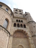 Torre della cattedrale, a Treviri, la Germania Fotografie Stock Libere da Diritti