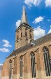 Torre della chiesa di Gudula in Lochem Fotografia Stock