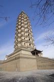 Torre della Cina Immagini Stock Libere da Diritti