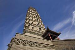 Torre della Cina Fotografia Stock