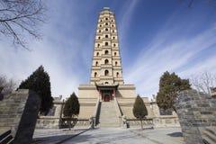 Torre della Cina Immagini Stock