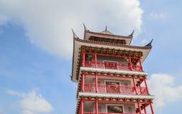 Torre della Cina Fotografie Stock Libere da Diritti