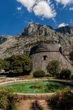 Torre della città di Cattaro Immagine Stock Libera da Diritti