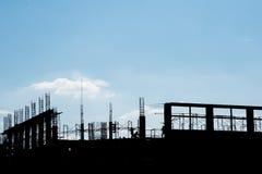 Torre della costruzione Fotografia Stock
