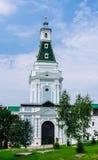 Torre della crosta calcarea Trinità-st santa Sergiev Posad Immagine Stock Libera da Diritti