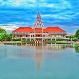 Torre della cupola nell'università di Thamasat Fotografia Stock