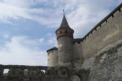 Torre della fortezza della difesa Fotografia Stock Libera da Diritti