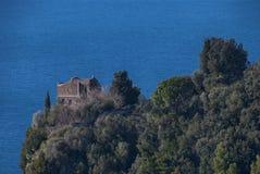 Torre della fortezza di rovina Fotografie Stock