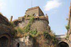 Torre della fortificazione di Ausa Fotografia Stock