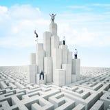 Torre della gente Fotografia Stock Libera da Diritti